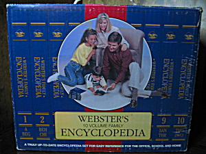 Webster's Family Encyclopedia Paperback Set