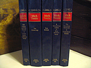 The Novels Of Mark Twain