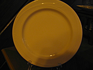 Buffalo China White Espree Line Dinner Plate