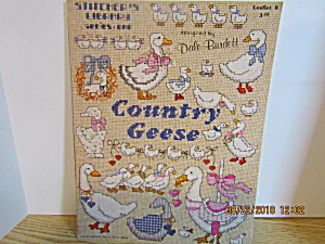 Burdett Stitcher's Library Series 1 Country Geese #8 (Image1)