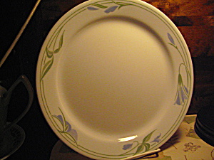 Corelle Blue Wreath Dinner Plate