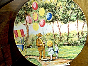 Limited Edition Plate The Balloon Man