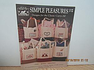 Jean Farish BookSimple Pleasures Classic Carry-All  #40 (Image1)