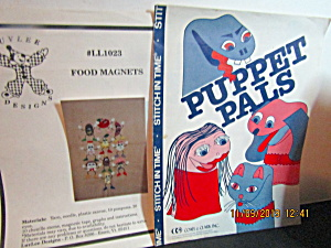 Vintage Sheets Puppet Pets & Food Magnets