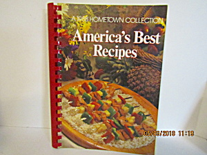 A 1988 Hometown Collection America's Best Recipes