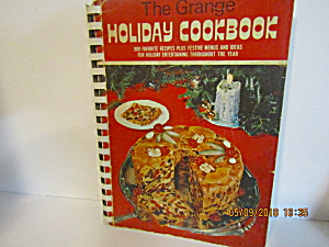Vintage Cookbook The Grange Holiday Cook Book