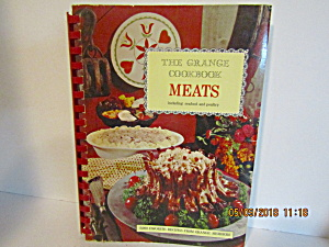 Vintage Cookbook The Grange Meats Cook Book