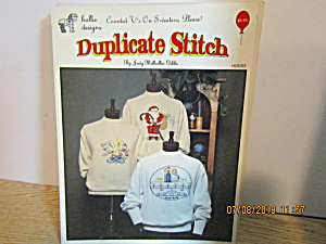 HollieDesigns Duplicate Stitch Counted V's On Sweaters  (Image1)