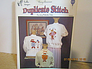 Holliedesigns Duplicate Stitch Beary American Hdds7