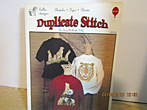 Holliedesign Duplicate Stitch Cheetah Tiger Panda Hdds8
