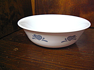 Corelle Blue Hearts Cereal Bowl