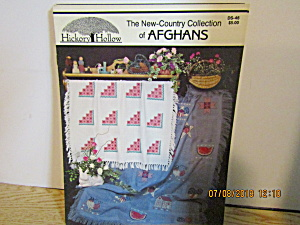 Hickory Hollow Book Country Afghan Collection #ds-46
