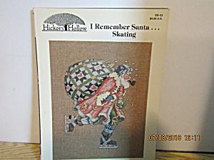 Hickory Hollow Book I Remember Santa Skating   #DS-53 (Image1)