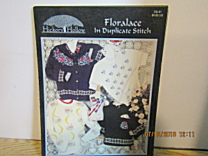 Hickoryhollow Book Floralace In Duplicate Stitch #ds-61