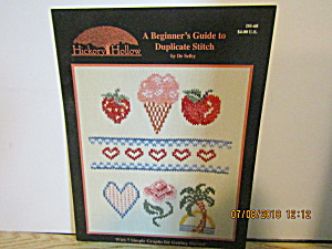 Hickoryhollow A Beginners Guide Duplicate Stitch #ds-68