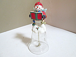 Choir Snowboy Angel Christmas Bell
