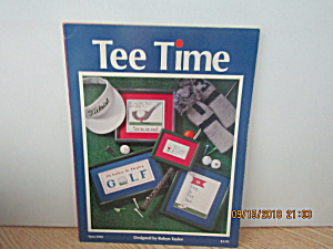 Just Cross Stitch Book Tee Time #901