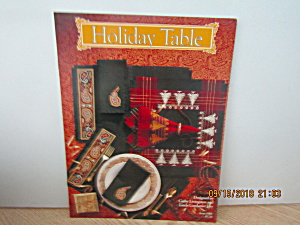 Just Cross Stitch Book Holiday Table #906