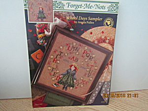 Just Cross Stitch Forget-me-not School Days #465