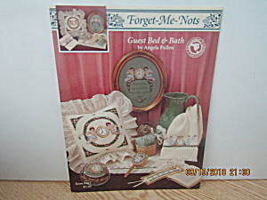 Just Cross Stitch Forget-me-not Guest Bed & Bath #467