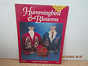 Just Cross Stitch Book Hummingbird & Blossoms #256