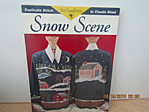 Just Cross Stitch Book Snow Scene #279