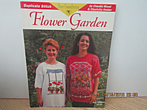 Just Cross Stitch Book Flower Garden #283