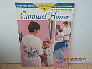 Just Cross Stitch Book Carousel Horses #290