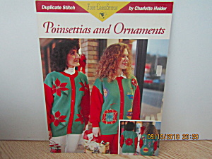Just Cross Stitch Book Poinsettias & Ornaments #291