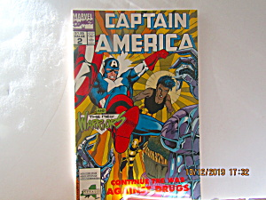 Vintage Marvel Comic Captain America The New Warriors