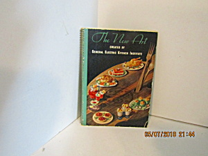 Vintage Cookbook General Electric Kitchens The New Art