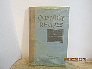 Quantity Recipes From Meals For Many