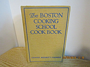 The Boston Cooking School Cookbook