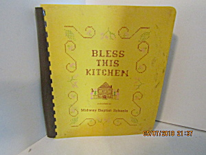 Vintage Cook Book Bless This Kitchen