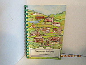 Treasured Recipes From Hammond Roads P.t.a.