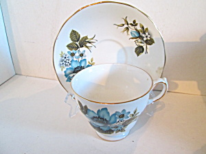 Queen Anne Bone China Cup & Saucer Set
