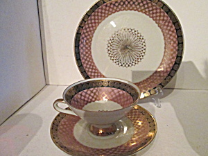 Winterling Geometric Tea Set Marytleuthen Bavaria