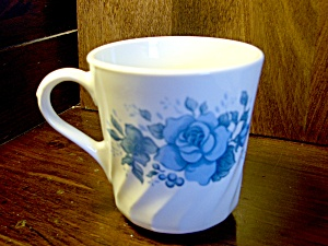 Corelle Blue Velvet Coffee Cup