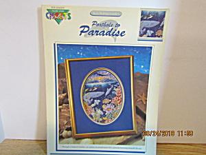 Color Charts Cross Stitch Porthole To Paradise  #10403 (Image1)