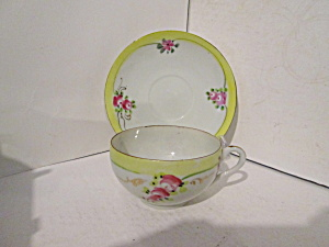 Vintage Fine China Japan Thin Cup & Saucer Set