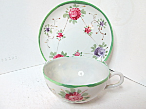 Vintage Fine Bone China Japan Cup & Saucer Set