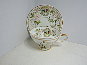 Vintage Avon Honor Society Cup & Saucer Set