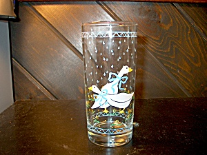 Libby Country Goose 12 Oz.drinking Glass