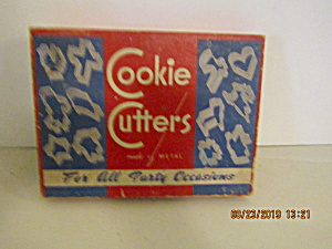 Vintage All Occasion Cookie Cutter Box Set