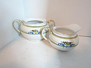 Vintage Noritake Malvern  Open Sugar & Creamer Set (Image1)
