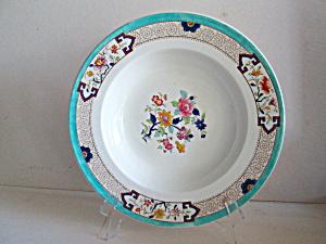 Vintage Cauldon England Floral Print Soup Bowl & England - Antique China Antique Dinnerware Vintage China Vintage ...