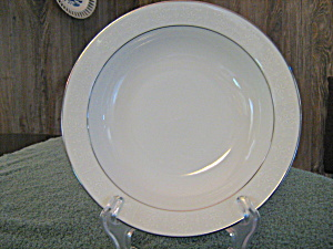 Crown Empire Princess Rimmed Soup Bowl