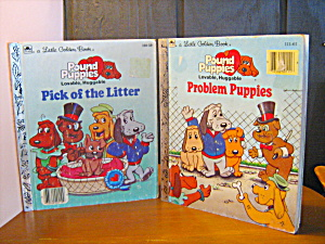 Golden Book Pound Puppies Set Of Two