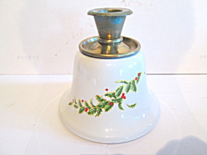 Holiday Hostess Christmas Candle Holder