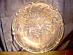 Large Glass Bell Serving Dish/platter